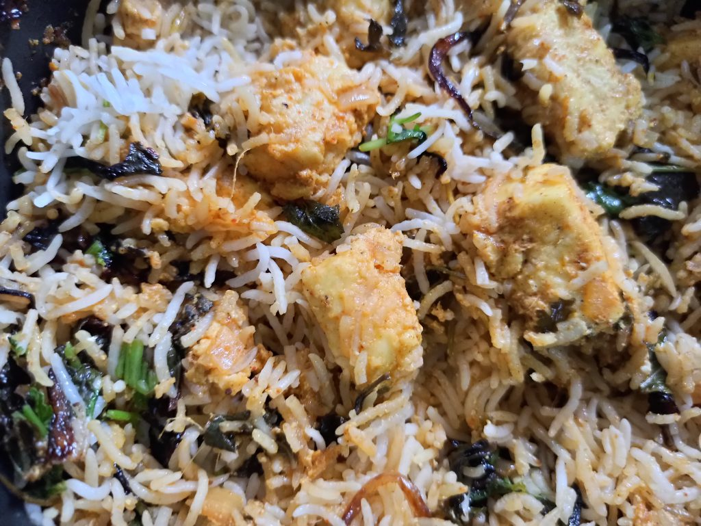 how to make paneer dum biryani