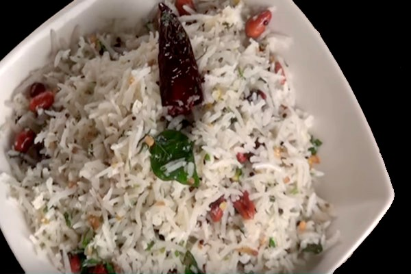 coconut rice Indian