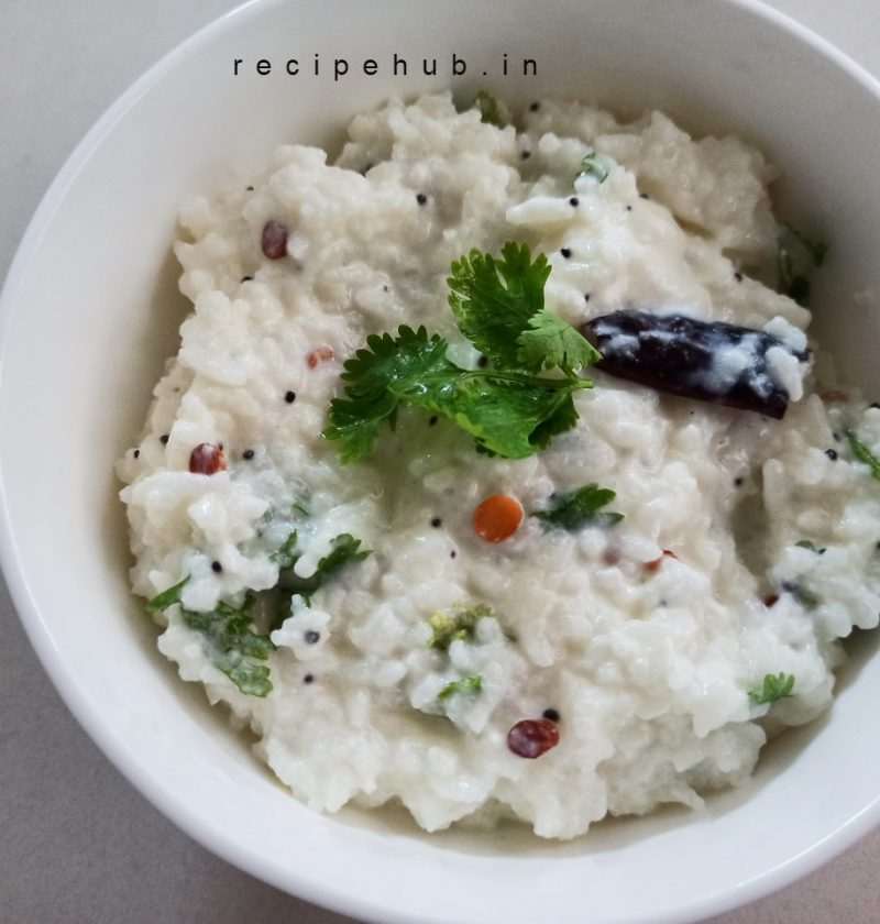simple curd rice recipe