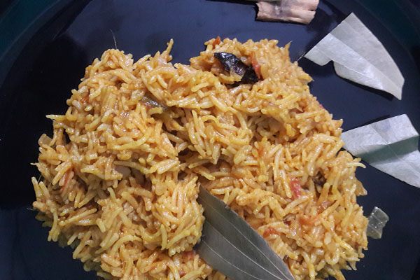 plain biryani rice recipe