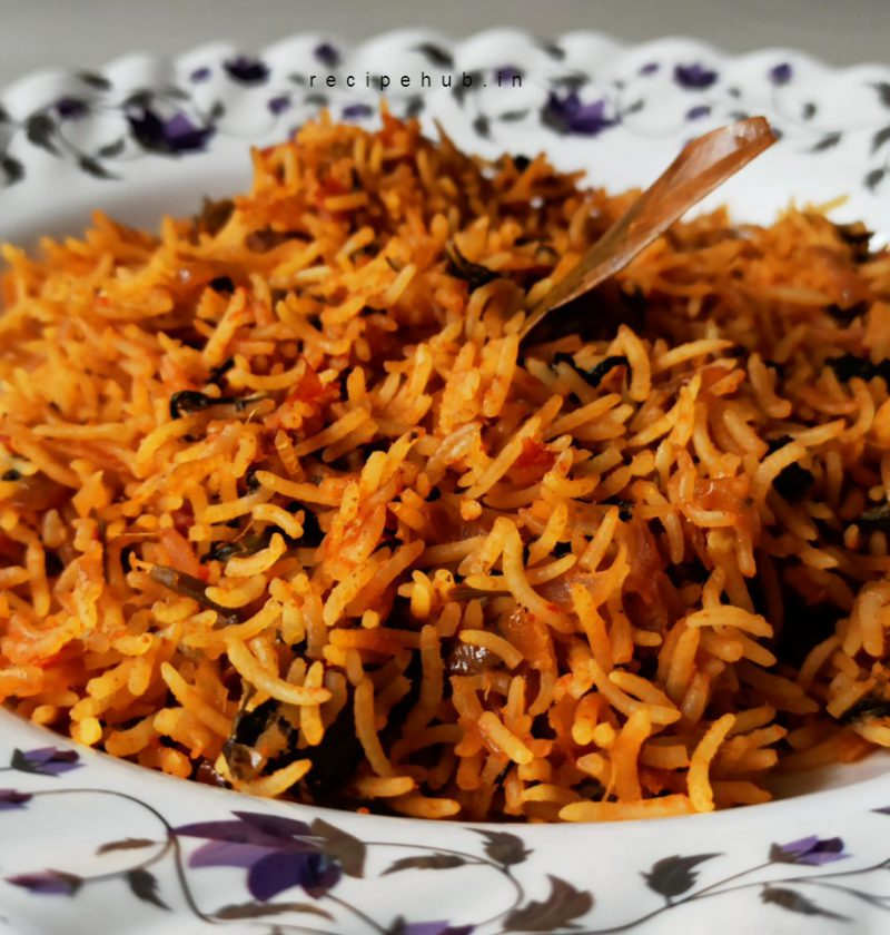 plain biryani rice recipe