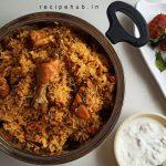seeraga samba chicken biryani in cooker