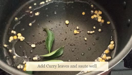 add-curry-leaves