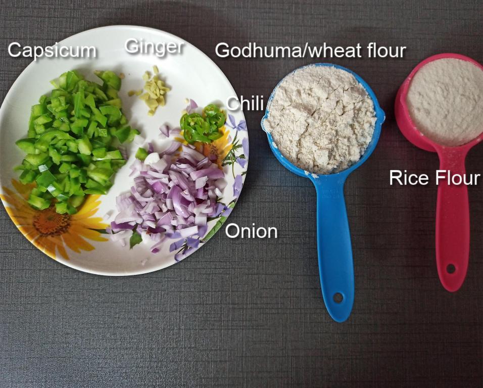 wheat-dosa-ingredients