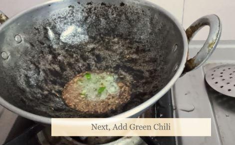 Add green chili