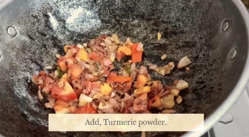 Add tumeric