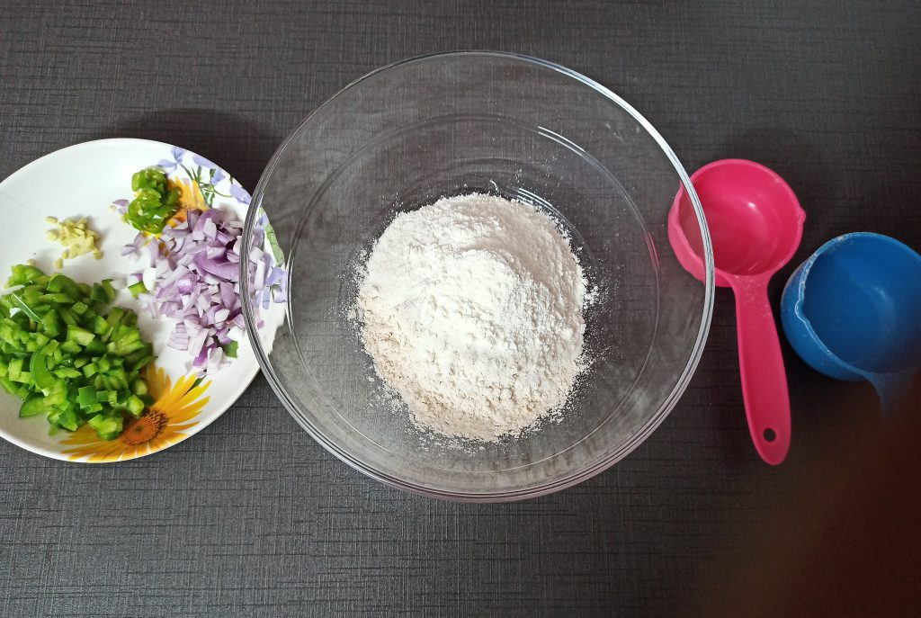 Add rice flour