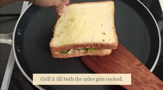 chilli cheese sandwich recipe grill one side