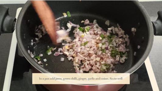 recipe of masala bread add onion