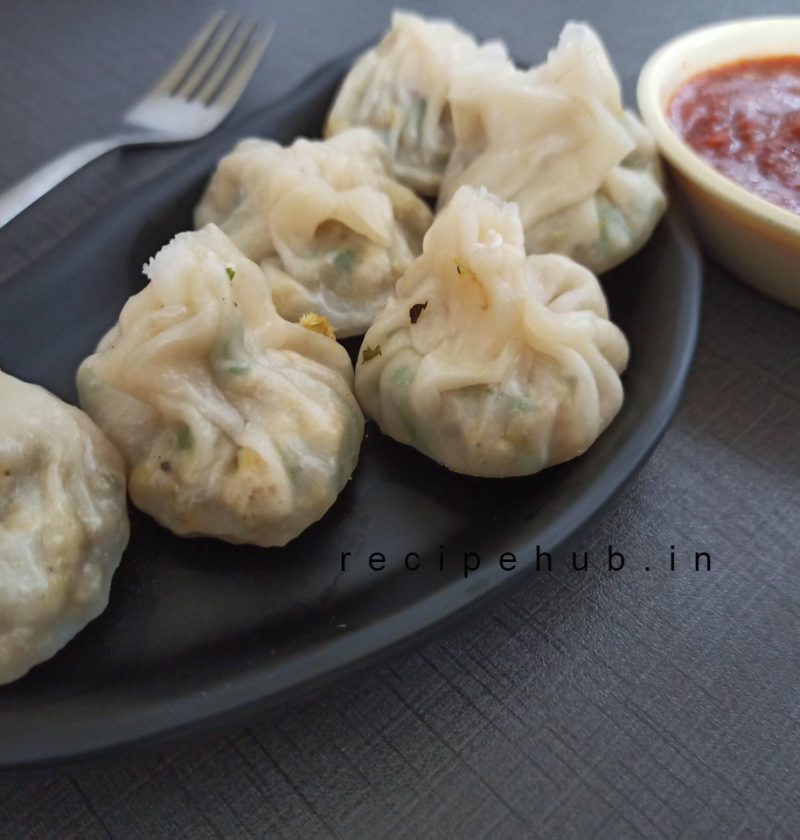 homemade chicken momo