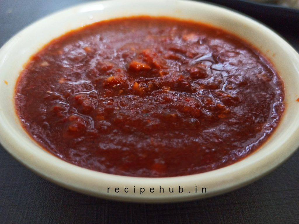 momos red chutney recipe