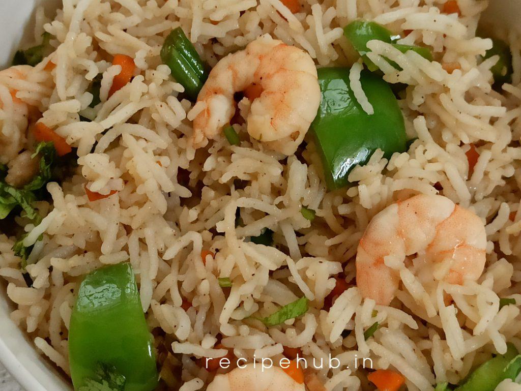 prawn fried rice recipe