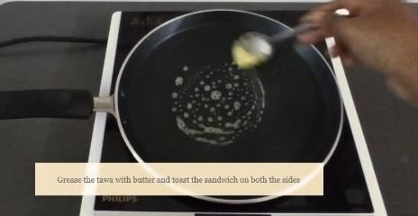 healthy mayonnaise sandwich