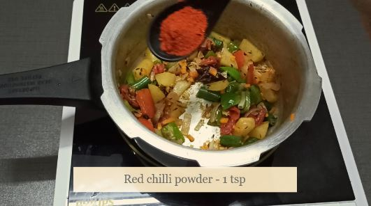 simple vegetable pulao