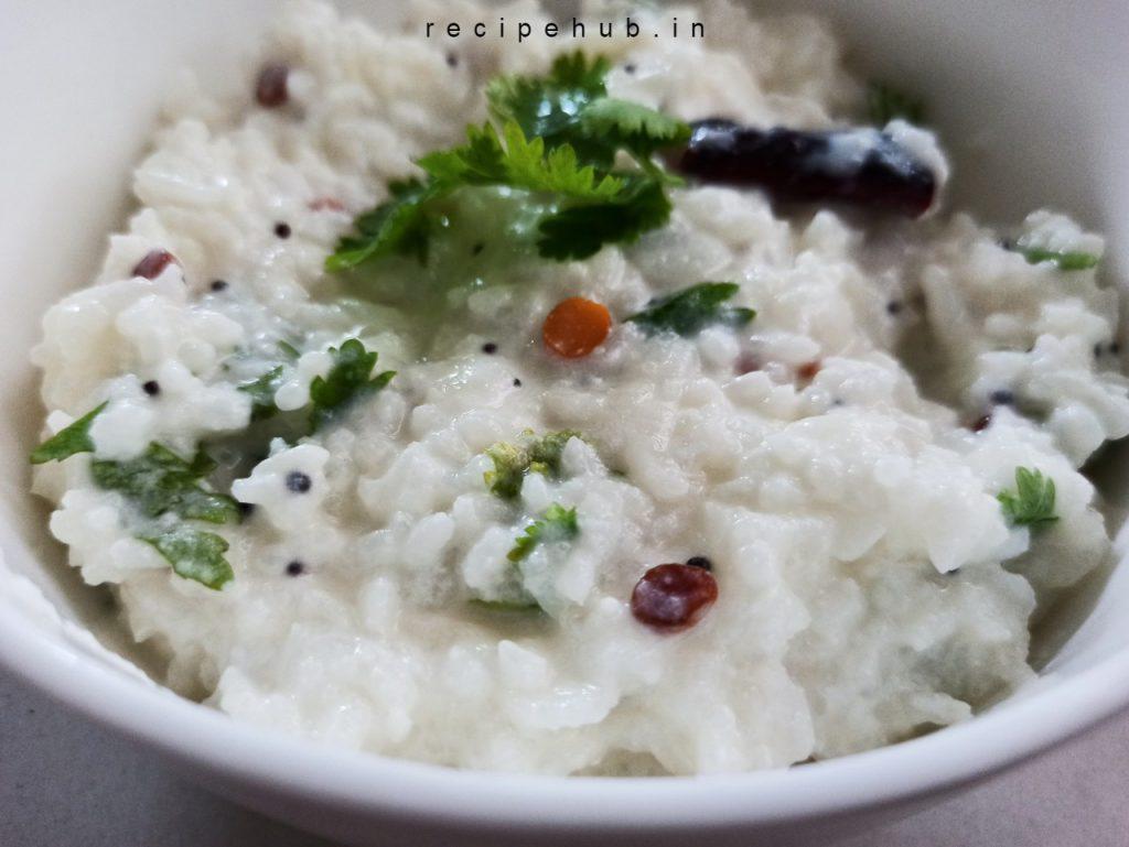 simple curd rice recipe
