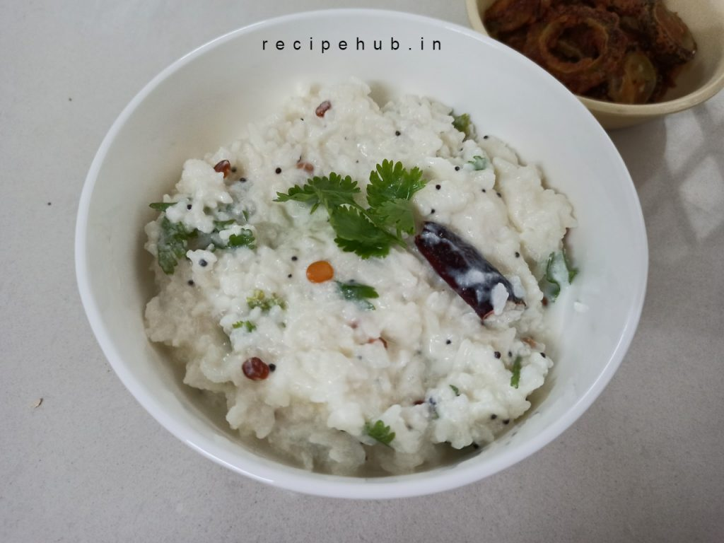 rice with curd