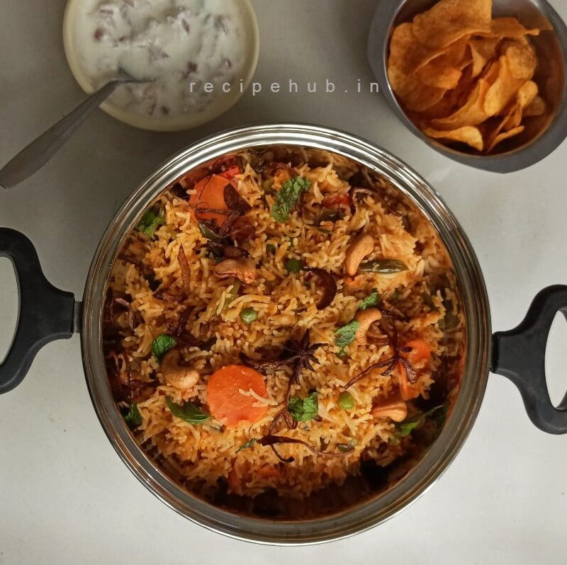 one pot veg biryani recipe