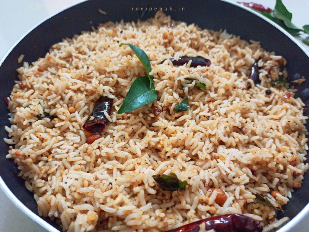 how to make tamarind rice