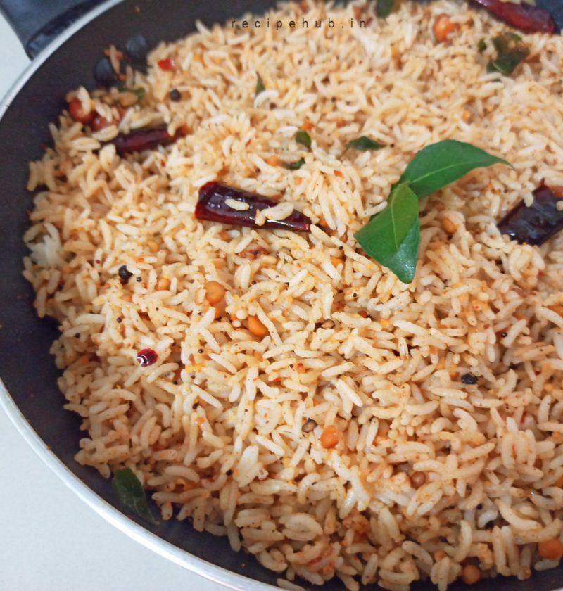 easy tamarind rice recipe