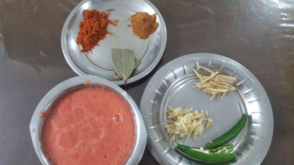 paneer butter masala ingredients