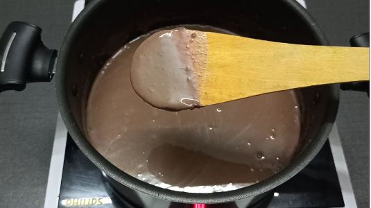 chocolate pudding at home