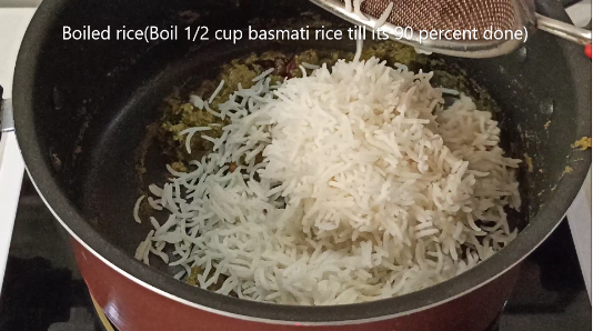 how to cook pudina rice