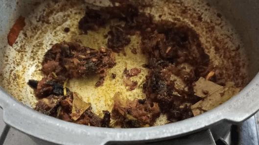 mushroom biryani in rice cooker