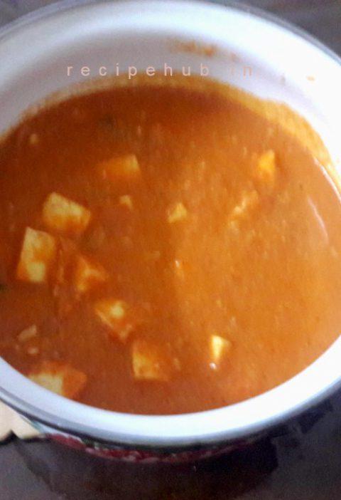 paneer butter masala gravy