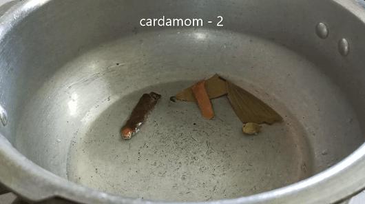 vegetable biryani pressure cooker
