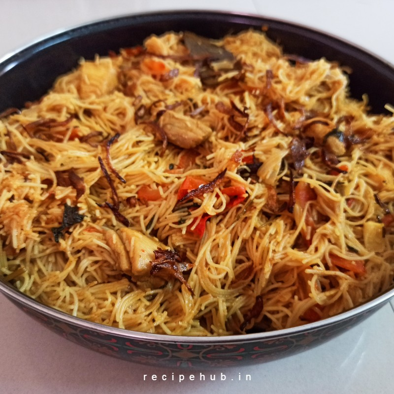 chicken semiya biryani