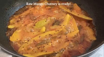 raw mango chutney bengali style