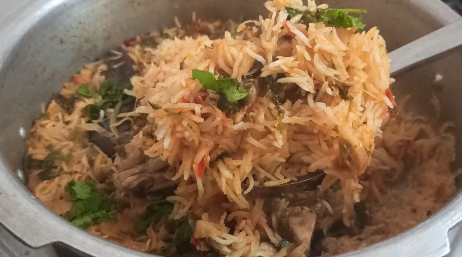 south indian chicken biryani recipe