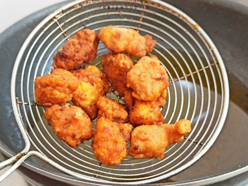 how to make chicken popcorn at home