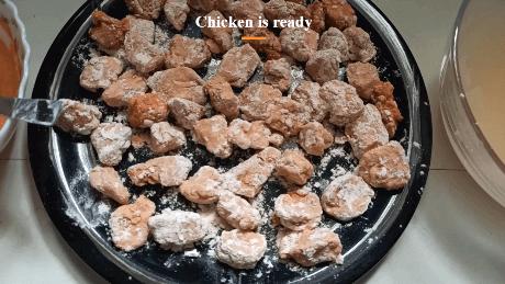 fried chicken popcorn